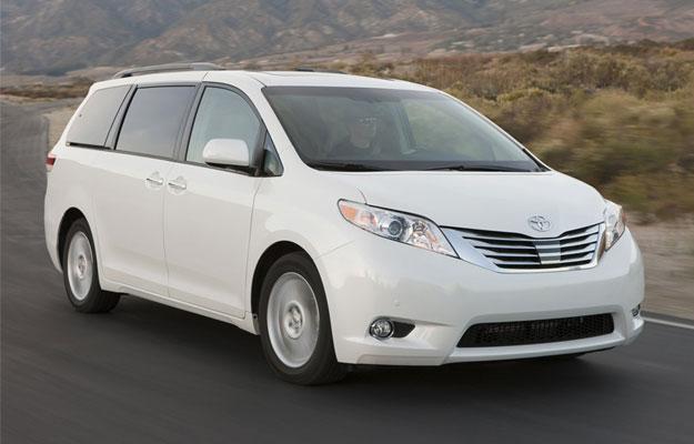 Las minivans más vendidas en EUA