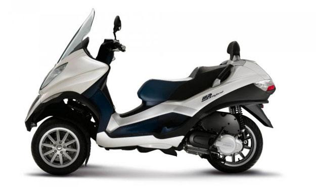 Motos - Scooter Piaggio MP4 Hybrid a producción - Noticias ...