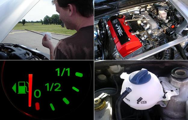 Aprende a revisar los niveles de líquidos de tú auto