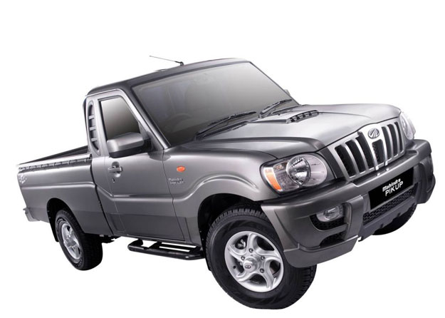 Mahindra Pik up 2010: Llegó con New Look