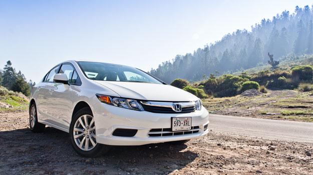 Honda Civic EXL 2012 a prueba