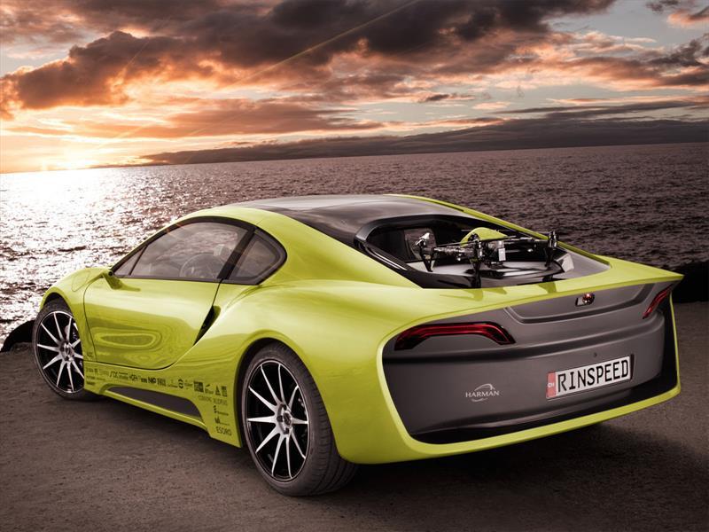Rinspeed Etos Concept es un BMW i8 extravagante