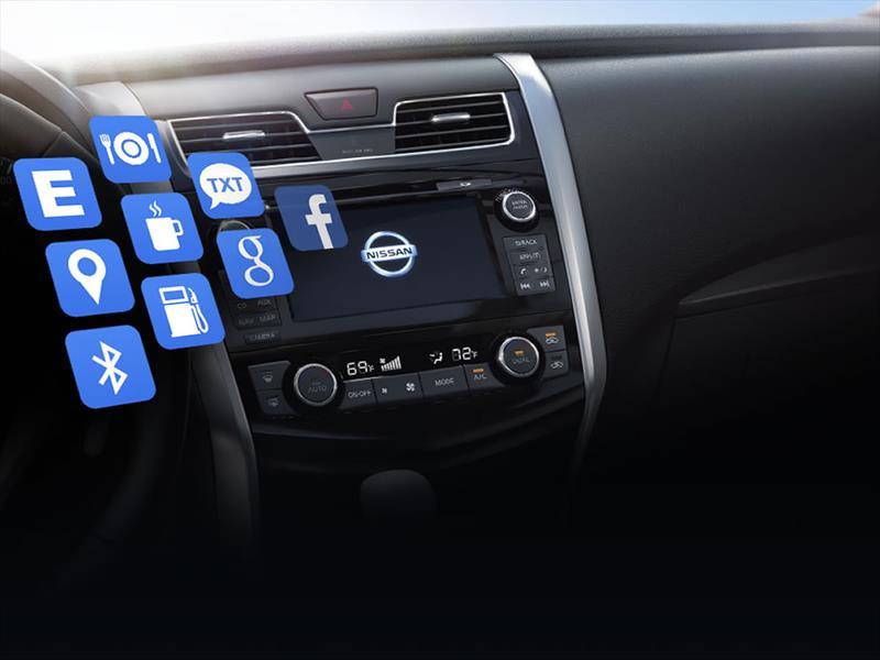 nissan connect una app para conectar auto con smartphone. Black Bedroom Furniture Sets. Home Design Ideas