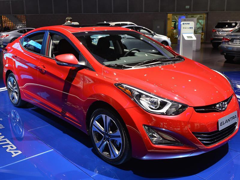 Salón de Los Ángeles 2013 - Hyundai Elantra 2014 se presenta ...