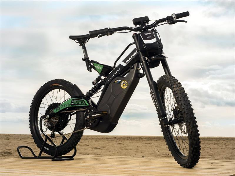 Brinco Discovery, una bicicleta eléctrica de montaña