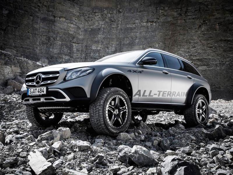 Mercedes-Benz Clase E All Terrain 4x4 2 para la aventura extrema familiar