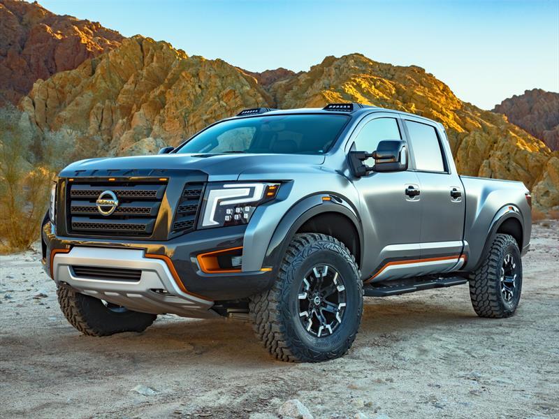 Nissan Titan Warrior Concept: Rival para la Raptor de Ford