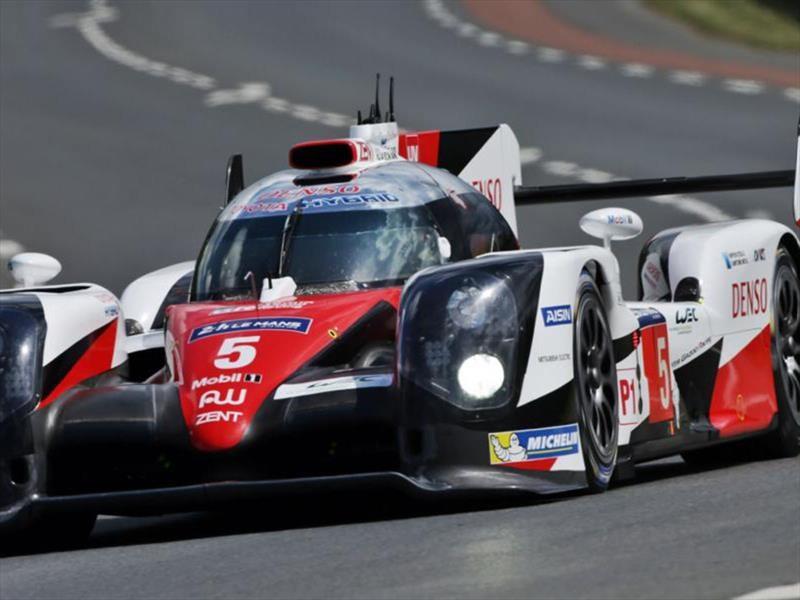 Toyota alineará tres autos para Le Mans 2017