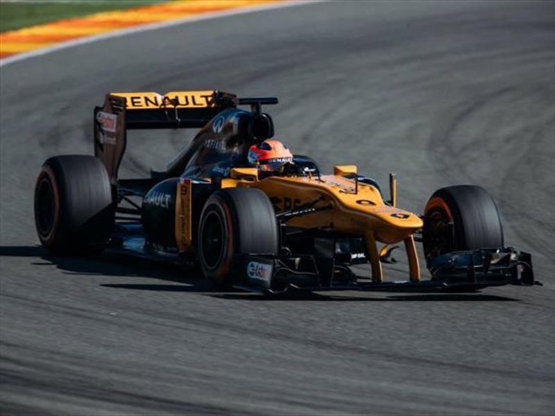 Robert Kubica vuelve a conducir un F1