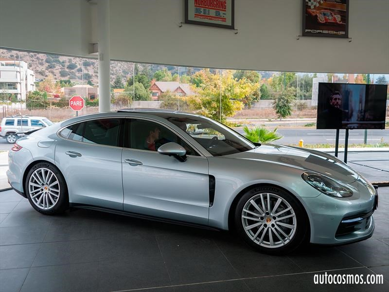 Nuevo Porsche Panamera 2017 en Chile, audacia reafirmada