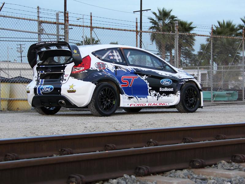 Video: Ford Fiesta ST hace Rallycross en Detroit