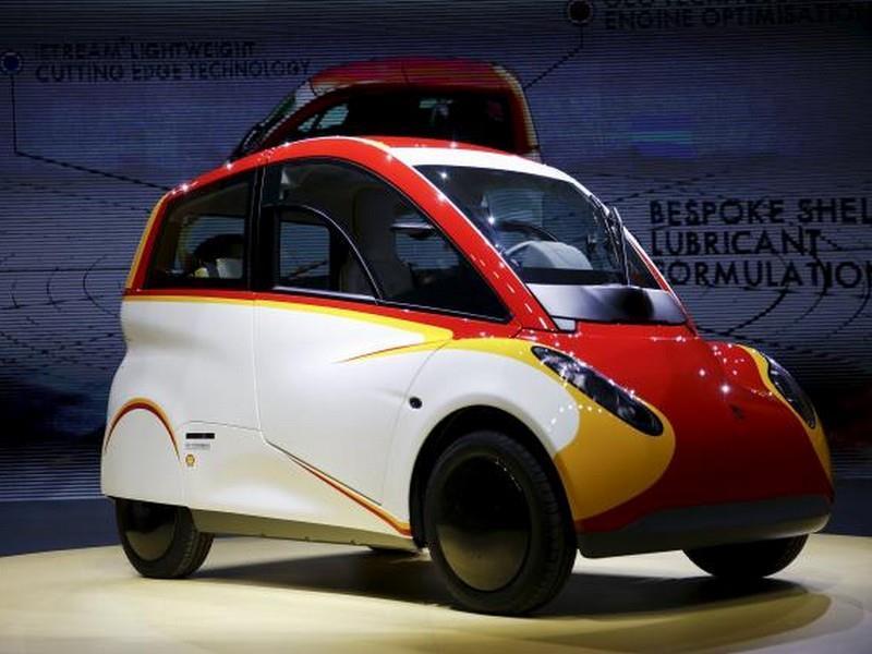 Shell City Car Concept, el auto ideal para las ciudades
