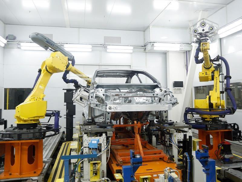 Así funciona una de las fábricas automotrices más modernas del país