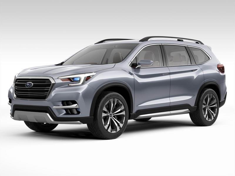 Subaru vuelve a tener un SUV de 7 plazas