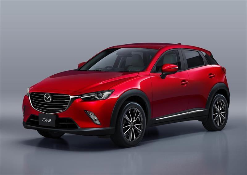 Mazda CX-3 2017 estrena versiones desde $298,900 pesos ...