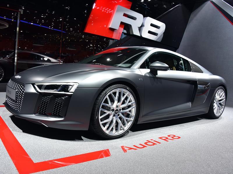 Autoshow De Ginebra 2015 Audi R8 2016 Un Deportivo