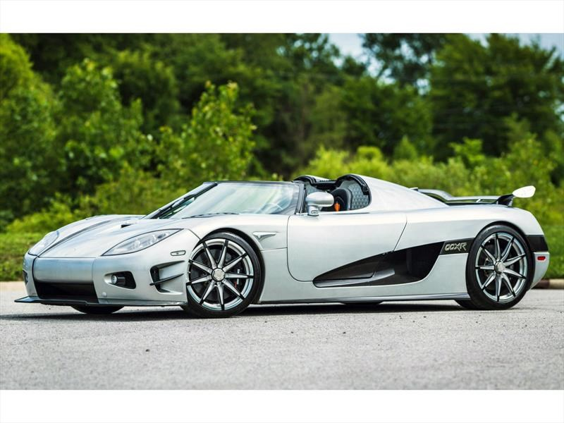 A subasta este exclusivo Koenigsegg CCXR Trevita