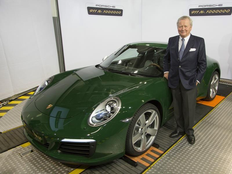 Porsche celebra un millón de 911 producidos