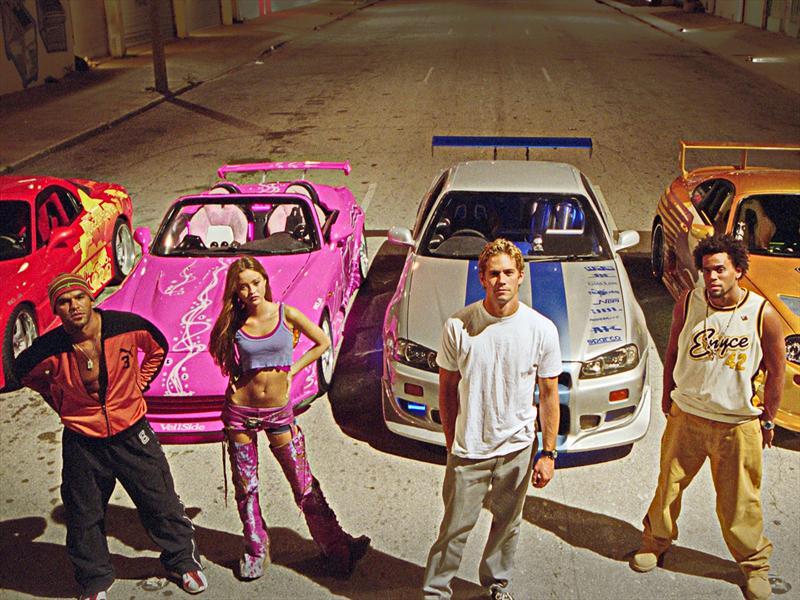 Los mejores autos de Rápido y Furioso