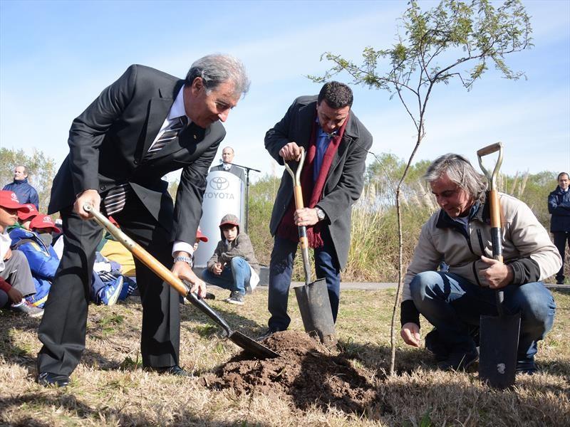 Toyota inaugura su reserva natural en Zárate