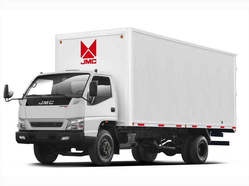 JMC presenta nuevos camiones Euro 4