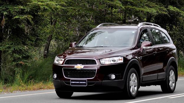 Nueva Chevrolet Captiva diésel llega a Chile