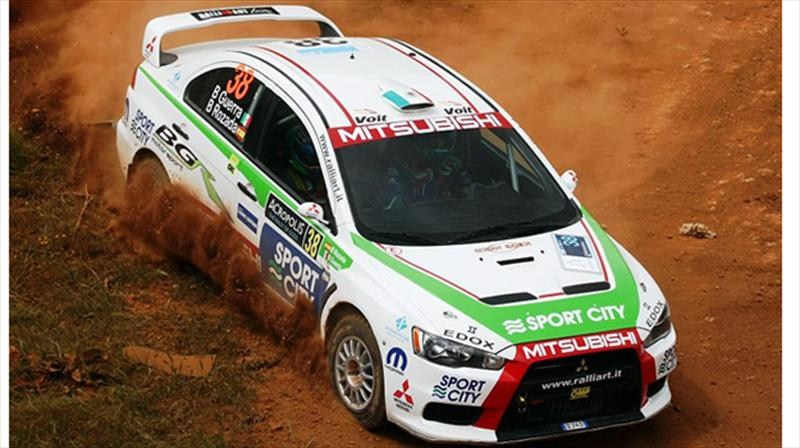 Benito Guerra:&#160;obtiene 4&#186; lugar en Rally Acr&#243;polis, en Grecia