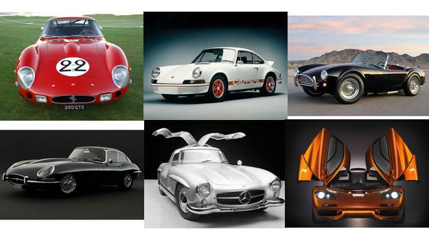 Los 25 mejores autos de todos los tiempos según Playboy