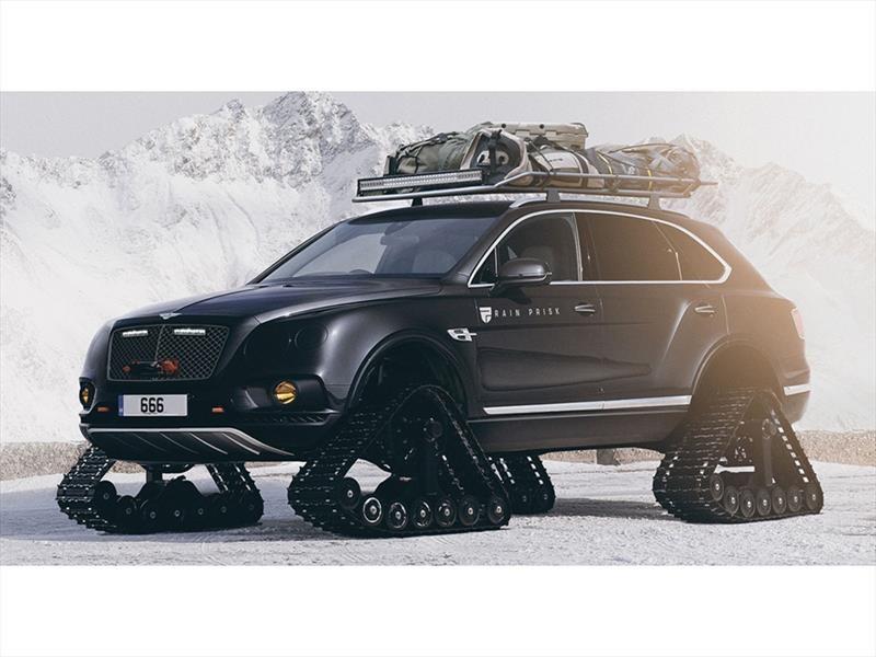 Un Bentley Bentayga exclusivo para la nieve