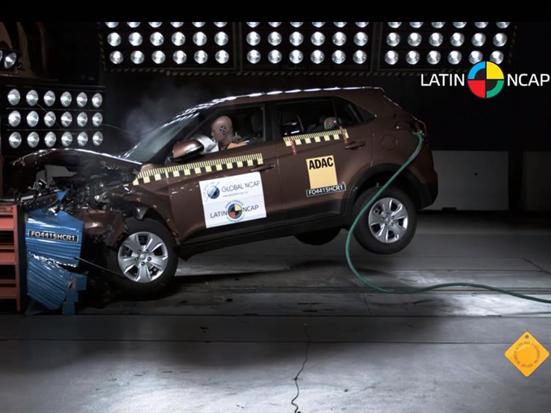 Hyundai Creta: 4 Estrellas en pruebas de impacto de Latin NCAP