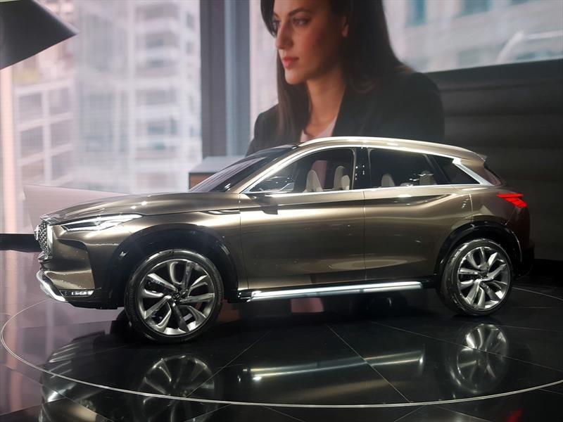 Infiniti QX50 Concept, anticipa un rival del Audi Q5