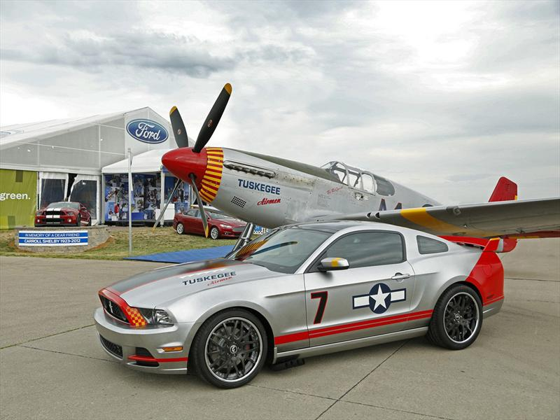 Ford Mustang GT Red Tail Special 2013 se subastar&#225; en AirVenture de Oshkosh
