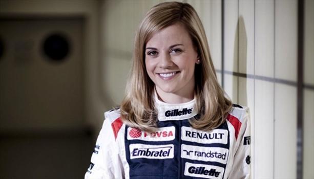 Una chica llega a la F1