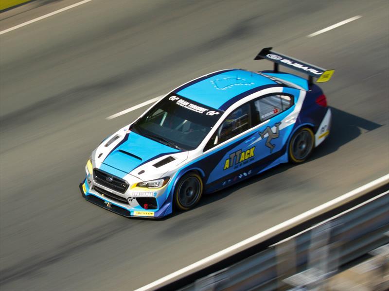 Así fue el récord del Subaru WRX STI en Isle Of Man TT Course 2016
