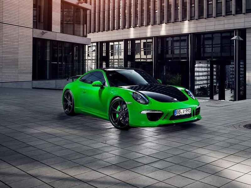 Salón de Ginebra 2013 - Porsche 911 Carrera 4S TECHART 2013 debuta ...