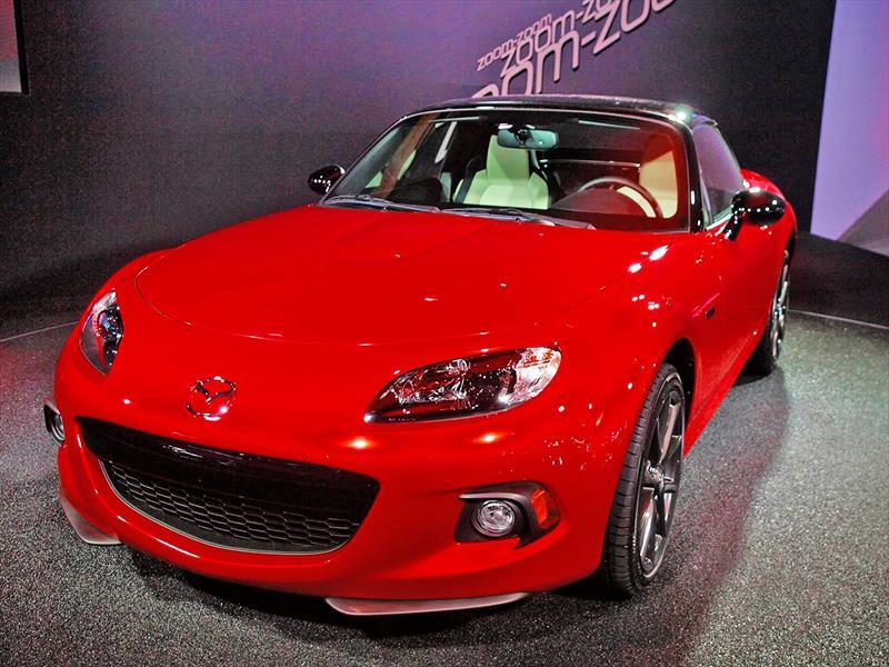 Mazda MX-5 2014 25th aniversary, edición que celebra el cuatro de siglo