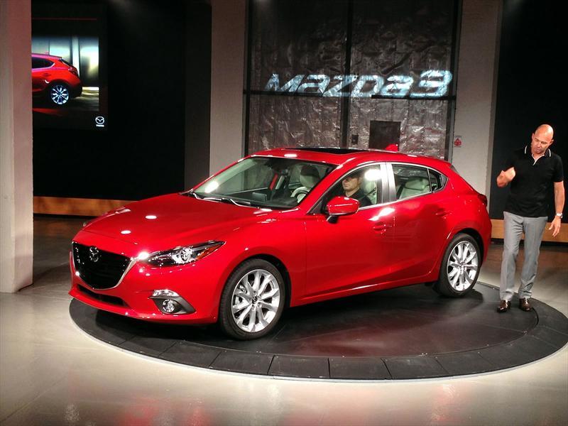 Mazda3 2014 se presenta en Nueva York - Autocosmos.com