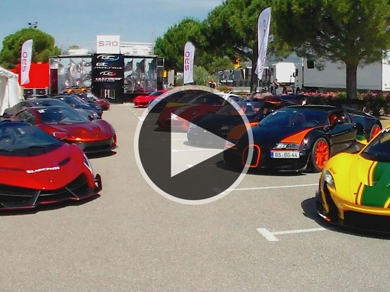 Circuito Vehiculos : Desfile de super autos en el circuito paul ricard