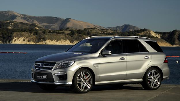 Mercedes-Benz ML 63 AMG 2012: La 3era generación