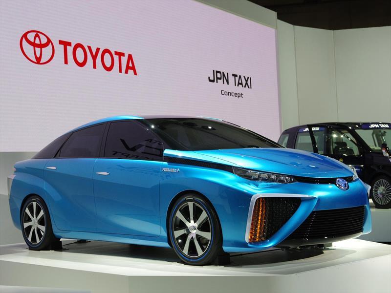 Toyota FCV Concept: El poder del hidrógeno