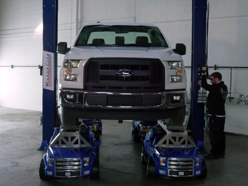 Power Wheels Ford F-150, un juguete de raza fuerte - Autocosmos.com