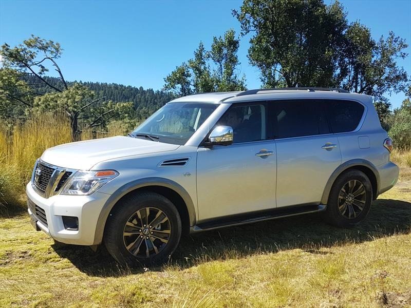 Nissan Armada 2017 llega a México en $1,071,000 pesos