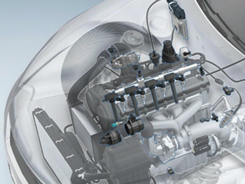 ¿Cómo funciona el sistema de inyección de combustible?