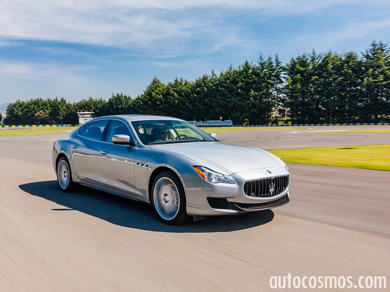 Maserati Quattroporte S Q4 2016 a prueba