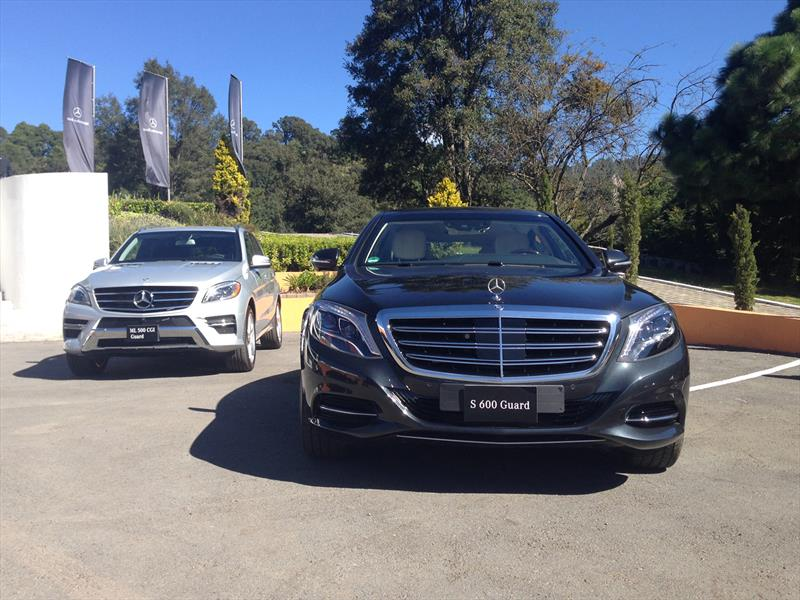 Mercedes benz presenta en m xico el nuevo s 600 guard 2015 for Mercedes benz com mx mexico