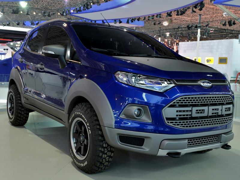 """Ford """"tunea"""" a la EcoSport en Sao Paulo"""
