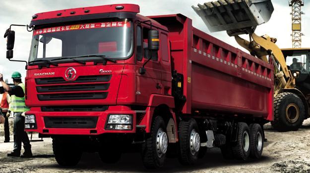 Camiones Shacman llegan a Chile