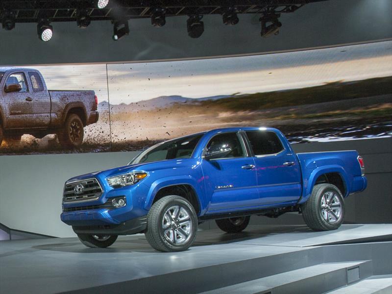 Toyota Tacoma 2016 se presenta