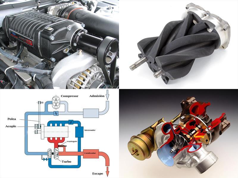 ¿Cuál es la diferencia entre un turbo y un súper cargador?