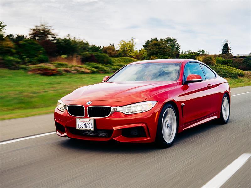 Prueba al BMW Serie 4 coupé 2014